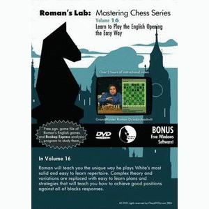 Romans Chess DVD - Lab Vol 16 - Learn to play the English The Easy Way