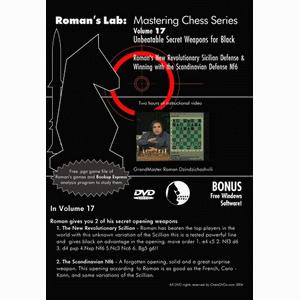 Romans Chess DVD - Lab Vol 17 - Unbeatable Secret Weapons for Black