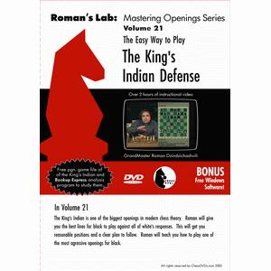 Romans Chess DVD - Lab Vol 21 - The King's Indian Defence