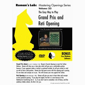 Romans Chess DVD - Lab Vol 23 - Grand Prix and Reti