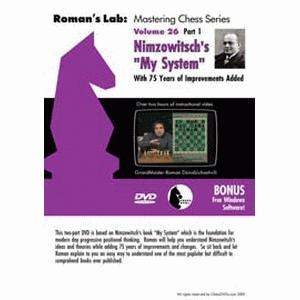 Romans Chess DVD - Lab Vol 26 - Nimzovitch's My System Part 1
