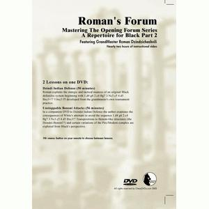 Romans Chess DVD - Lab Vol 32 - Mastering the Opening Forum Series - Repertoire for Black 2