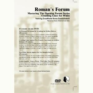 Romans Chess DVD - Lab Vol 33 - Mastering the Opening Series - Crushing Lines for White
