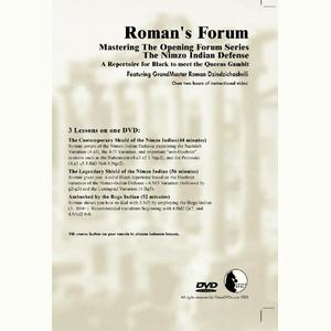 Romans Chess DVD - Lab Vol 34 - Repertoire for Black vs. Queen's Gambit