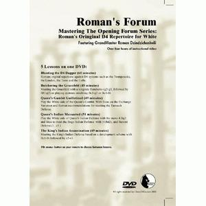 Romans Chess DVD - Lab Vol 35 - Mastering the Opening Series - Original d4 Repertoire for White