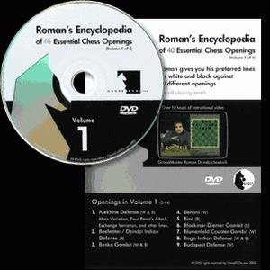 Romans Chess DVD - Lab Vol 37 - Encyclopedia of Chess Openings Vol 1