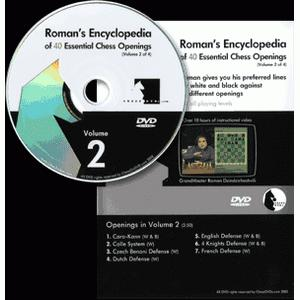 Romans Chess DVD - Lab Vol 38 - Encyclopedia of Chess Openings Vol 2