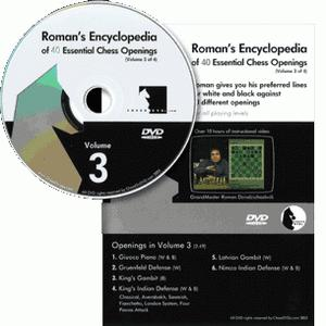 Romans Chess DVD - Lab Vol 39 - Encyclopedia of Chess Openings Vol 3