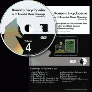 Romans Chess DVD - Lab Vol 40 - Encyclopedia of Chess Openings - Vol 4