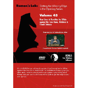 Romans Chess DVD - Lab Volume 43