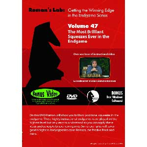 Romans Chess DVD - Lab - Vol 47 The Most Brilliant Squeezes Ever in the Endgame