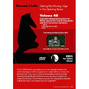 Romans Chess DVD - Complete Universal f4 system for White against the Sicilian Fianchetto and non-Fi