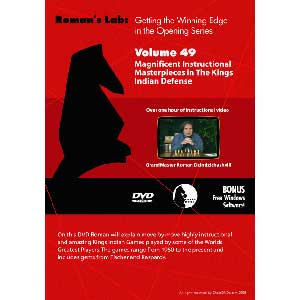 Romans Chess DVD - Lab - Vol 49 Magnificent Instructional Masterpieces in The Kings Indian Defense