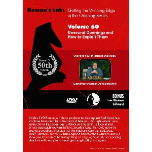Romans Chess DVD - Lab - Vol 50 Unsound Openings and How to Exploit Them