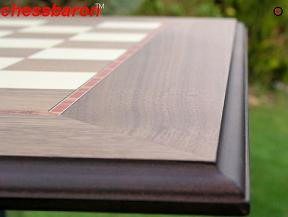 Walnut and Sycamore Chess Board with 2 inch Squares
