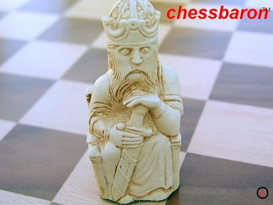 Gothic Lewis Chess Set