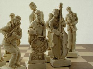 Mascott Chess - Jazz Chess Set