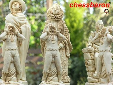 Christopher Columbus Chess Set
