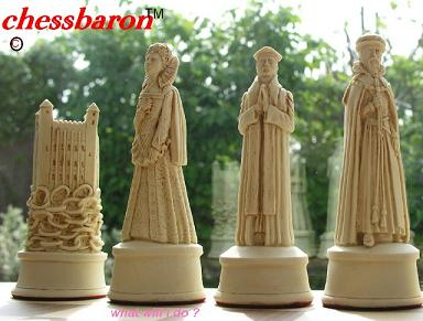 Elizabethan Chess Set