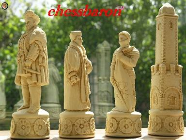 Henry VIII Chess Set