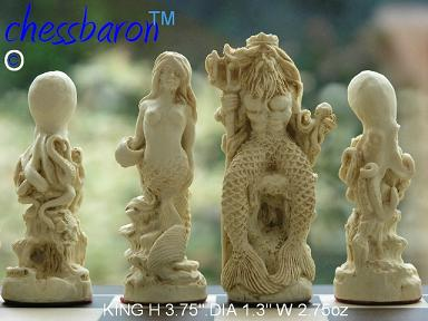 Sea Life Chess Set