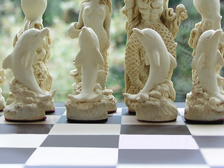Mascott Chess - Sea Life Chess Set