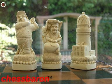 Golfers Chess Set