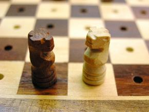 Pegged Travel - 6 inches x 6 inches Chess Set