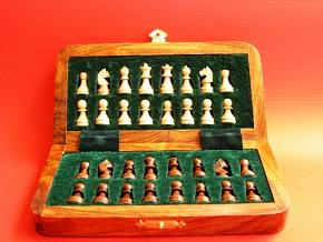 Magnetic 10 inches x 5 inches Magnetic Chess Set