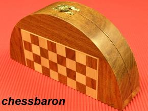 Half Moon Magnetic 9 Inch Dia. Chess Set