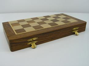 10 inch x 5 inch Economy Travel Chess Set