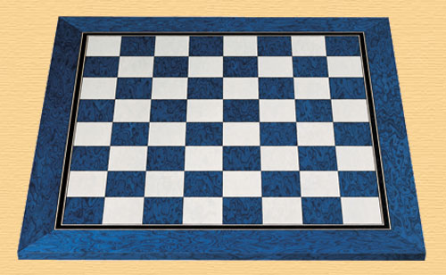 Blue High Quality Chess Board 2 inch Squares