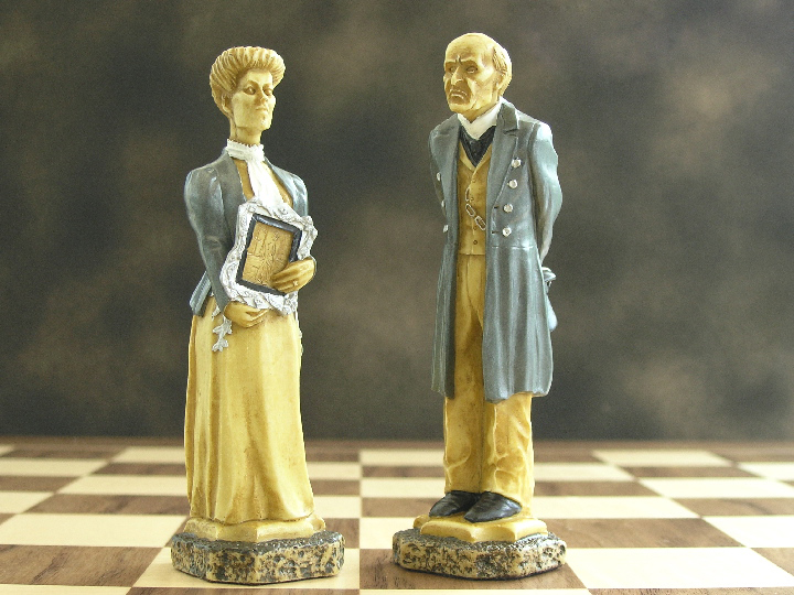 Sherlock Holmes Hand Decorated Chess Pieces 0 1278 426100