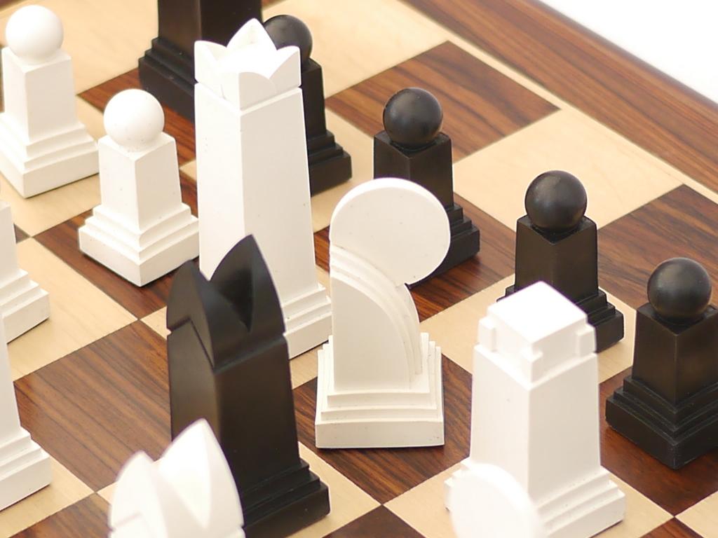Art Deco Chess Pieces 0 1278 426100