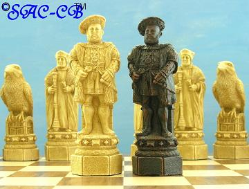 White Tower Chess Set