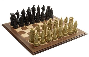 Queens Diamond Jubilee Chess Set