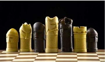 Medieval Masked Theme Chess Set