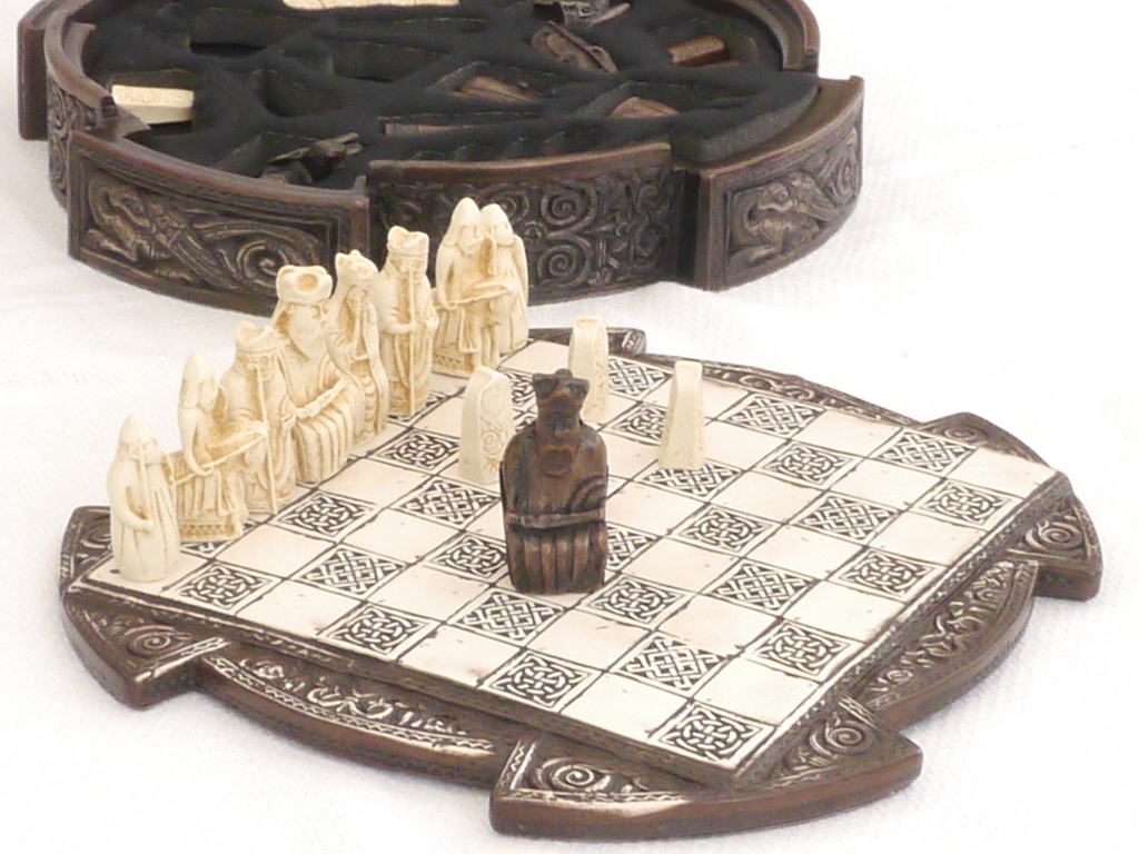 National Museum of Scotland Small Isle of Lewis Chess Set