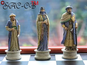 Hand Painted Crusades including Board (Economy Range 4 of 8)