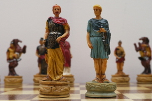 Hand Painted Rome v Greece War