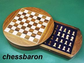 Circular Magnetic Travel Chess Set