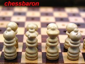 Detailed Pegged 7 x 5 inch Chess Set