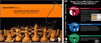 'Better Chess Now' - Set of Four - plus Free Masterchess 6000 - Chess DVD