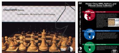 V2004 Garry Kasparov - My Story - Set of Five - plus Free Masterchess 6000 - Chess DVD