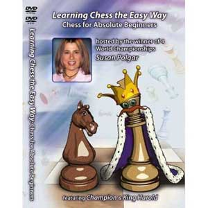 Chess for Absolute Beginners - Susan Polgar - Chess DVD