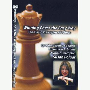Winning Chess the Easy Way - Vol 4 - Susan Polgar - Chess DVD