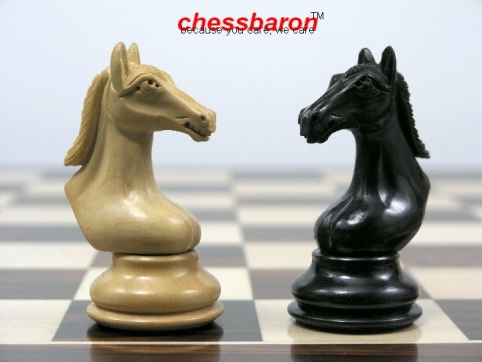 The Bronte in Ebony Wood Staunton Chess Set