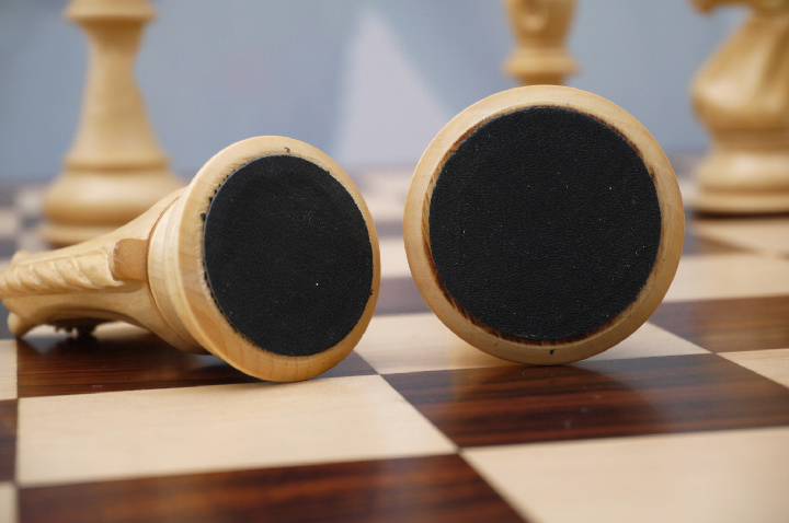 Sinead Staunton in Bud Rosewood Chess Set