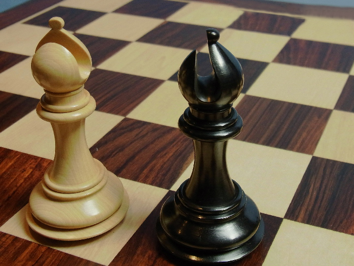 The Paxman Ebony Chess Pieces