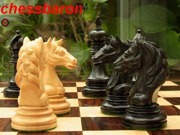 Limited Edition - The Dutailier Chess Pieces in Ebony